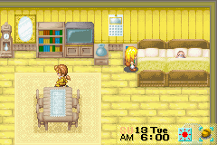 Harvest Moon - More Friends of Mineral Town - i had a baby, i named her Lady Gaga..lol - User Screenshot